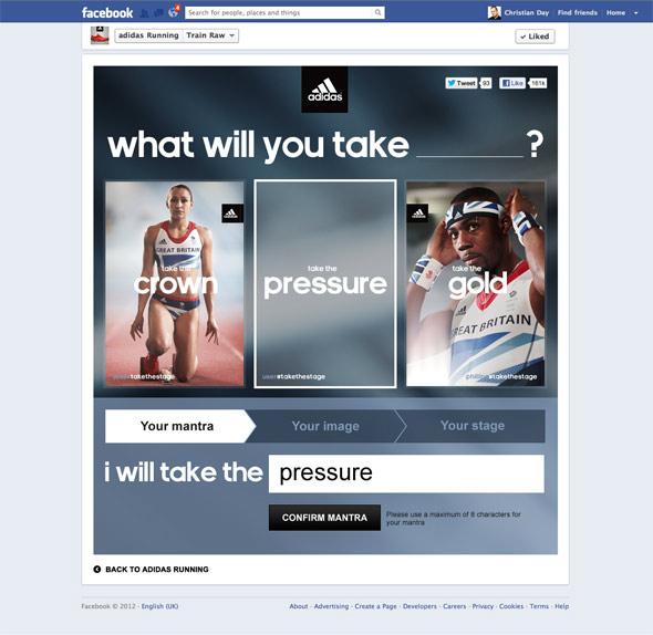 Envolver Mediador Error  Adidas Take The Stage - FIT Digital - Creative Digital Marketing